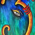 Sanskrit Om Ganesha by Sivaanan Balachandran