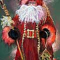 Santa As Father Christmas by Shelley Schoenherr