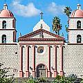 Santa Barbara Mission by Elijah Weber