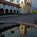 Santa Barbara Mission Reflections by Kathy Yates