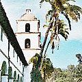 Santa Barbara Palms by Flamingo Graphix John Ellis