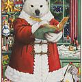 Santa Bear by Lynn Bywaters