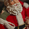 Santa Claus - Antique Ornament - 02 by Jill Reger