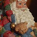 Santa Claus - Antique Ornament - 03 by Jill Reger