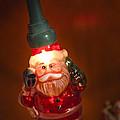 Santa Claus - Antique Ornament - 06 by Jill Reger