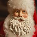 Santa Claus - Antique Ornament - 07 by Jill Reger