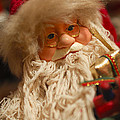 Santa Claus - Antique Ornament - 08 by Jill Reger
