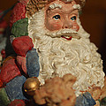 Santa Claus - Antique Ornament - 09 by Jill Reger