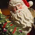 Santa Claus - Antique Ornament - 10 by Jill Reger
