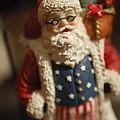 Santa Claus - Antique Ornament - 15 by Jill Reger