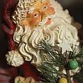 Santa Claus - Antique Ornament - 18 by Jill Reger