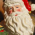 Santa Claus - Antique Ornament - 19 by Jill Reger