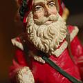 Santa Claus - Antique Ornament - 21 by Jill Reger