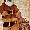 Santa Claus Bag by Georgeta  Blanaru