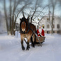 Santa Claus by Conny Sjostrom