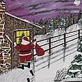 Santa Claus Is Watching by Jeffrey Koss