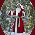 Santa Claus Walt Disney World Oval by Thomas Woolworth