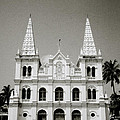 Santa Cruz Basilica In Cochin by Shaun Higson