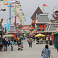 Santa Cruz Beach Boardwalk California 5d23625 by Wingsdomain Art and Photography