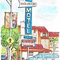 Santa Cruz Inn Motel In Riverside - California by Carlos G Groppa