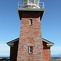 Santa Cruz Lighthouse Surfing Museum California 5d23944 by Wingsdomain Art and Photography