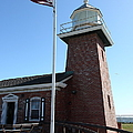 Santa Cruz Lighthouse Surfing Museum California 5d23948 by Wingsdomain Art and Photography