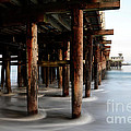 Santa Cruz Pier California by Bob Christopher