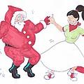 Santa Dances by Mike Jory