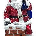 Santa Down The Chimney by Jay Milo