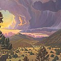Santa Fe Baldy by Art James West