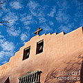 Santa Fe Church by Art Block Collections