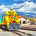 Santa Fe Southern Railway Train by Digital Photographic Arts