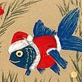 Santa Fish by Anastasiya Malakhova