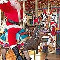 Santa Go Round by Ann Horn