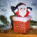 Santa Ho Ho Ho Photo Art by Thomas Woolworth