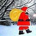 Santa In Winter Wonderland by Patrick J Murphy