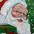 Santa by Julie Brugh Riffey