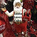 Santa Loves Coke by Joan Reese