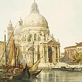 Santa Maria Della Salute by Jacques Guiaud