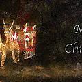 Santa Merry Christmas Photo Art by Thomas Woolworth