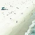 Santa Monica Beach by Angela Auclair