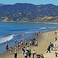 Santa Monica Beach by Joseph Schofield