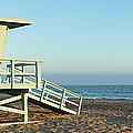 Santa Monica Lifeguard Station by S. Greg Panosian