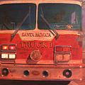 Santa Monica Truck One by Blue Sky