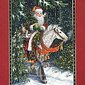 Santa Of The Northern Forest by Lynn Bywaters