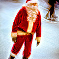 Santa On Ice by Chris Lord