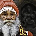 Santa Sadhu by David Longstreath