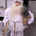 Santa Spotted In Jewellery Store by Brenda Kean