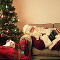 Santa Takes a Nap by Diane Diederich
