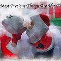 Santa The Most Precious Photo Art by Thomas Woolworth
